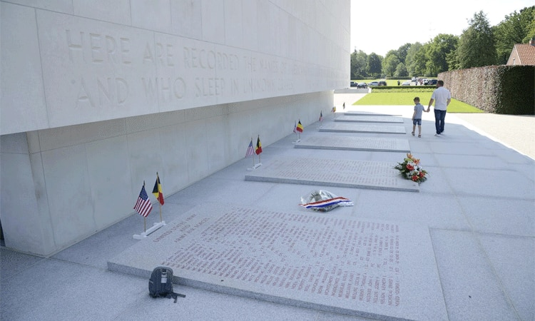 Memorial Day at Ardennes American Cemetery