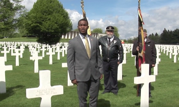 Wereth 11: Morehouse College Student Alex Andu Remembers U.S. Soldier George Davis